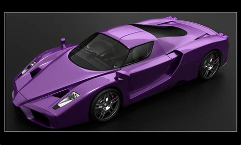 purple ferrari ferrari enzo violet edition by nixaster on deviantart
