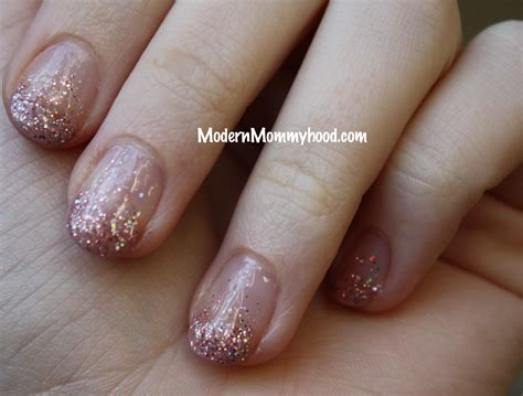 Glitter Nail Polishes by Glitter Nail Tutorial Modernly