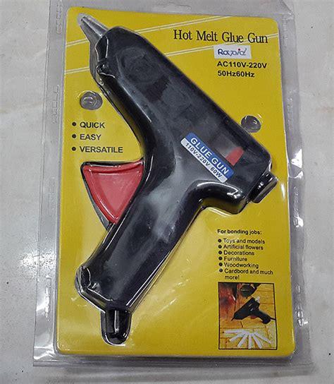 Glue Gun 110 220v 10 Watt Lem Tembak jual glue gun besar 60 watt lem tembak 110 220 v