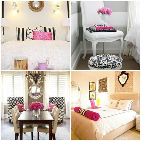 Bedroom Black White Pink Black White Pink Gold Bedroom Design Inspiration Www