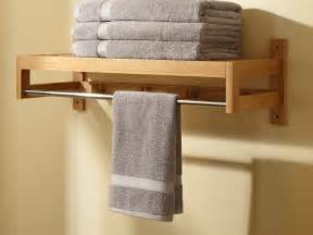 How to make wooden towel rack the homy design