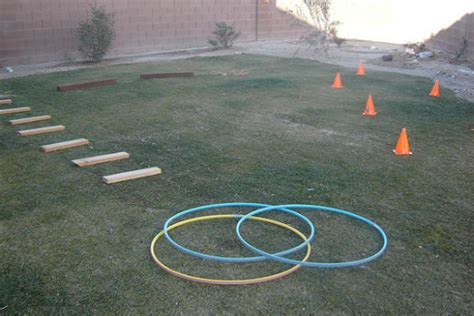 backyard obstacle  workout outdoor furniture
