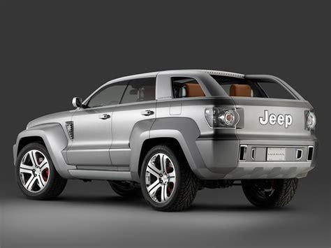 honda jeep 2007 2007 jeep trailhawk concept rear angle 1024x768