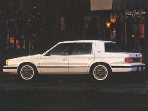 1993 dodge dynasty reviews specs and prices cars com