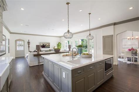 large island kitchens wonderful large square kitchen square kitchen islands home design