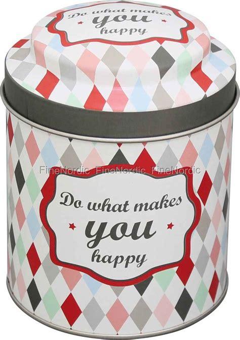 Happy Friday Tea Tins by Krasilnikoff Tea Tin Do What Makes You Happy Buy Here