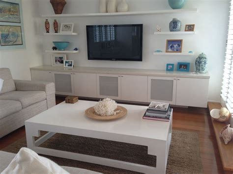 1000 ideas about shelves around tv on
