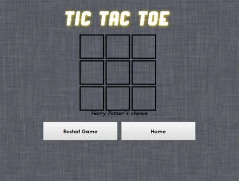 tic tac toe project template free tic tac toe html css project with source