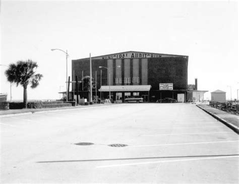 Pensacola Fl Court Records Florida Memory View Of The Municipal Auditorium