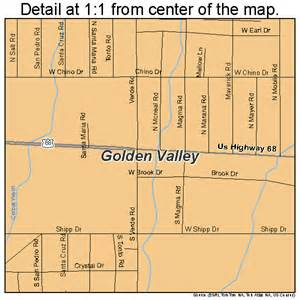 golden valley arizona map 0428195
