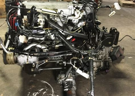 Turbo Cyclone jdm mitsubishi 4g63t turbo cyclone 6 bolt engine with mt 5 speed awd transmission jdm tokyo