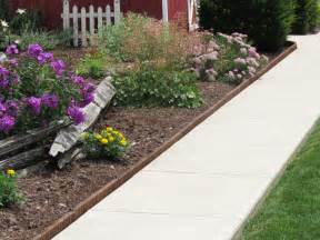 landscape edging eco green wood products