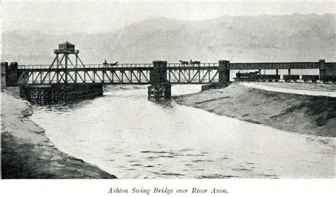 swing bridge bristol brunel s other bridge bristol swivel bridge historic photo