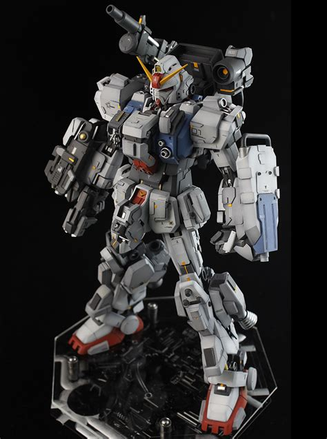 Kaos Gundam Mobile Suit 48 gundam mg 1 100 gundam ground type custom build