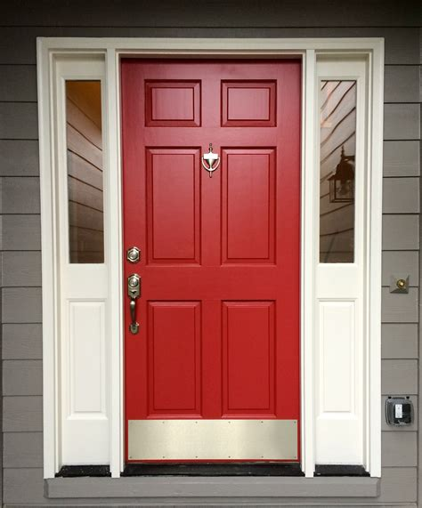 red front doors red front door sherwin williams antique red home