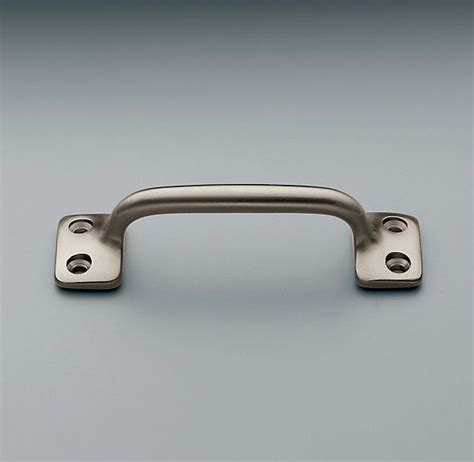restoration hardware cabinet pulls pull restoration hardware satin nickel finish 31 2