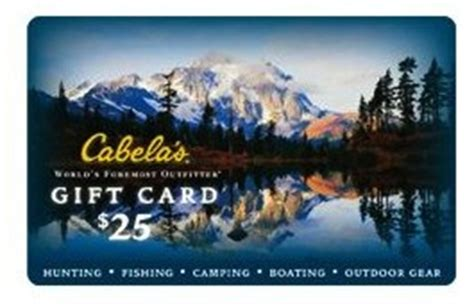 What Stores Have Cabela S Gift Cards - cabela s gift card balance