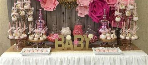 Mesa De Postres Para Baby Shower by Tendencias En Decoracion De Mesas De Postres Para Baby Shower