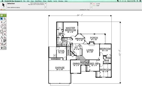 cad floor plan software turbocad for apple mac paulthecad