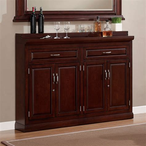 Home Bar Cabinet Uk Furniture Brown Wooden Bar Cabinet With Wine Storage Door And Shelf Plus Glass Hanger And