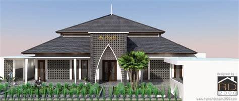 design masjid demak konsep desain masjid modern minimalis di jakarta rumah