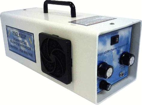 specifications for dc pro450 ozone generator