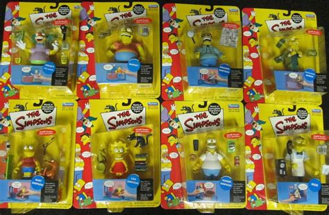 The Simpsons Family Figure the simpsons figures series 1 complete set