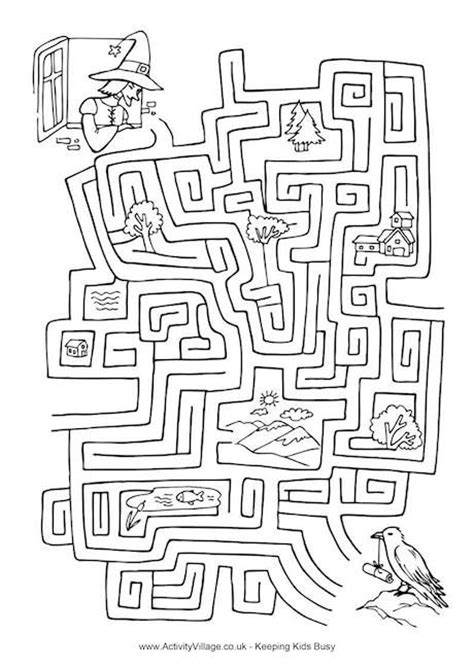 halloween coloring pages mazes 209 best images about coloring mazes puzzles on