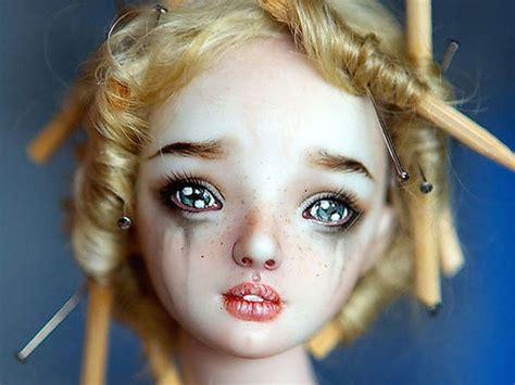 porcelain doll artists these enchanted dolls are realistic for our tastes