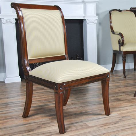 regency upholstered chairs set of 10 niagara furniture home furniture dining room chairs regency