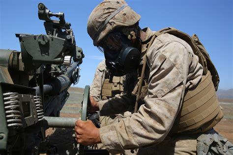 Shoo Marine 1st marine division brings out the big guns summer