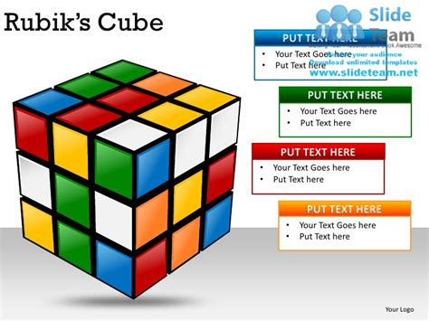 powerpoint cube template rubiks cubes powerpoint presentation slides ppt templates