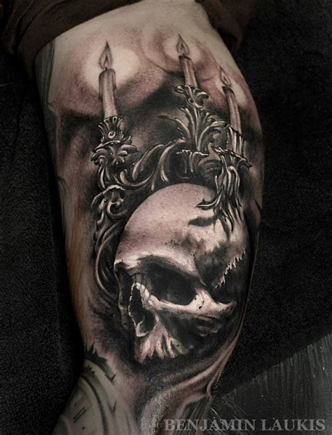 realistic skull tattoo the world s catalog of ideas