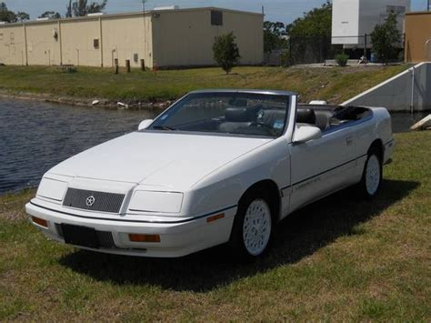 1992 Chrysler Lebaron by 1992 Chrysler Le Baron Information And Photos Momentcar
