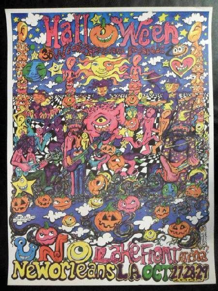 Widespread Panic - 10/29/2000 - New Orleans, LA | PanicStream Imitation Leather