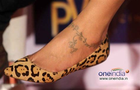 deepika tattoo deepika padukone 180 s ankle ideas