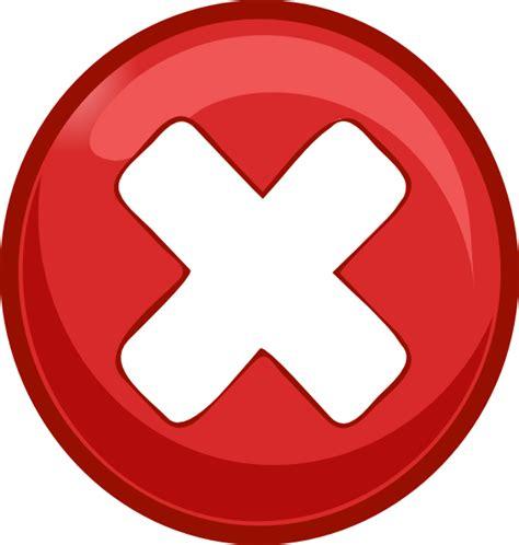 Small Delete Clip Art At Clker Com Vector Clip Art Free Vector Graphic Delete Remove Cross Cancel