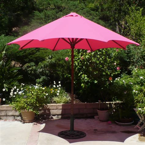 pink patio umbrella pink patio umbrella pink polka dot 9 market umbrella