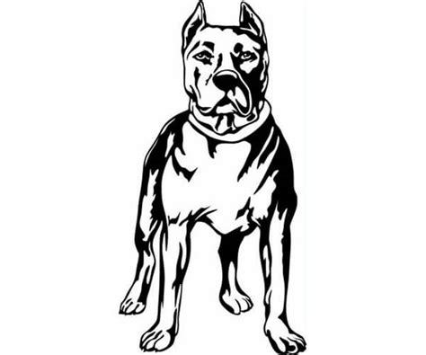 imagenes para dibujar de perros pitbull 35 im 225 genes de perros para colorear e imprimir cancitos