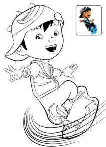 boboiboy coloring page printab e