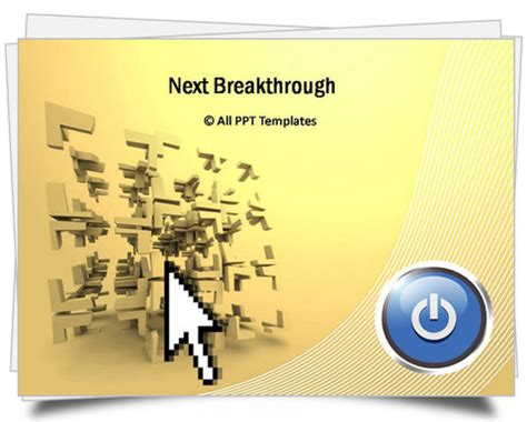 ready templates for presentation powerpoint breakthrough template