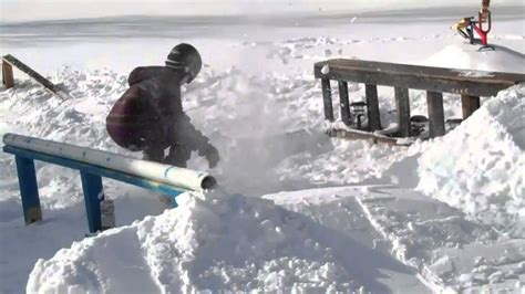 backyard snowboards backyard snowboarding 2010 youtube
