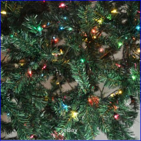 american made unlit 6ft or 7ft trees 7 foot pre lit artificial tree with 400 clear lights decor world