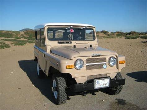 1969 nissan patrol buy used rare vintage 1969 nissan patrol l60 4x4 in san