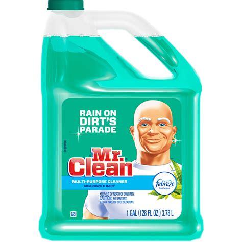 1 gallon bottle floor cleaner mr clean cleaner mr clean all purpose 1 gallon western bar