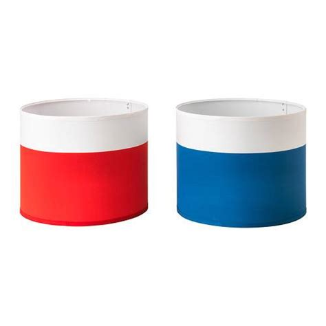 blue l shade ikea ikea l shade white red white blue 15 quot new ebay