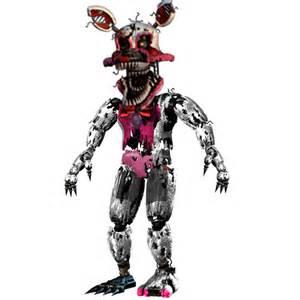 Nightmare funtime foxy by pkthunderbolt100 on deviantart