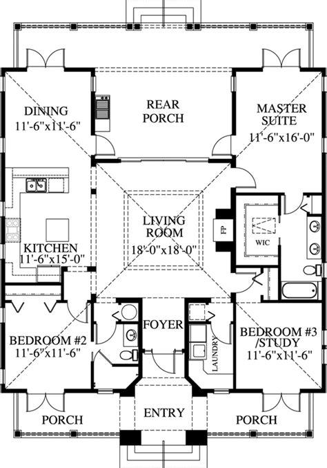 bath house floor plans coastal house plan 3 bedrooms 2 bath 1622 sq ft plan 54 115