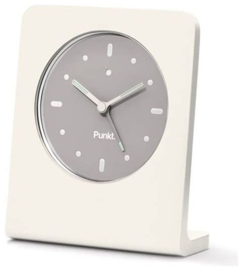 ac 01 alarm clock by punkt modern alarm clocks by lumens