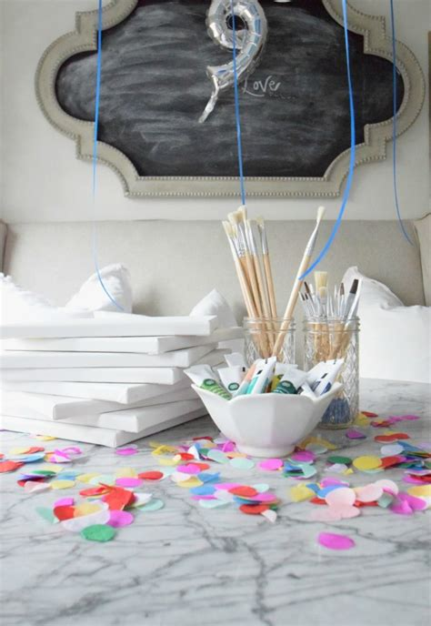 Paint Birthday Nesting With Grace